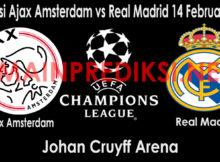 Prediksi Ajax Amsterdam vs Real Madrid 14 Februari 2019