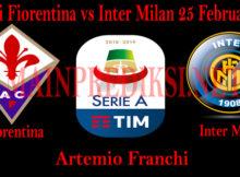 Prediksi Fiorentina vs Inter Milan 25 Februari 2019