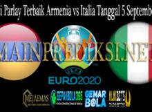 Prediksi Parlay Terbaik Armenia vs Italia Tanggal 5 September 2019