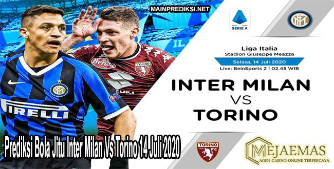 Prediksi Bola Jitu Inter Milan Vs Torino 14 Juli 2020