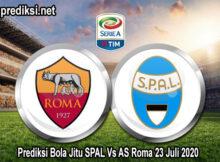 Prediksi Bola Jitu SPAL Vs AS Roma 23 Juli 2020