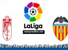 Prediksi Skor Akurat Granada Vs Valencia 05 Juli 2020