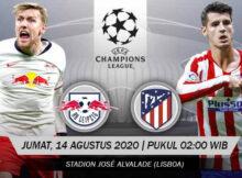 Main Prediksi Bola RB Leipzig Vs Atletico Madrid 14 Agustus 2020