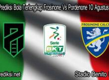 Main Prediksi Bola Terlengkap Frosinone Vs Pordenone 10 Agustus 2020