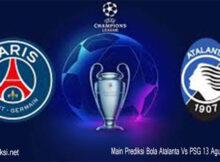 Main Prediksi Bola Atalanta Vs PSG 13 Agustus 2020