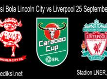 Main Prediksi Bola Lincoln City vs Liverpool 25 September 2020
