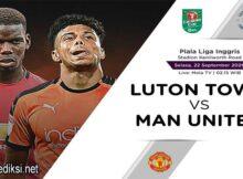 Main Prediksi Bola Luton Town vs Manchester United 23 September 2020