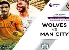 Main Prediksi Bola Wolverhampton vs Manchester City 22 September 2020