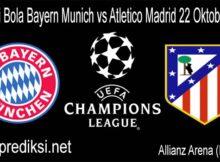 Prediksi Bola Bayern Munich vs Atletico Madrid 22 Oktober 2020