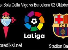 Prediksi Bola Celta Vigo vs Barcelona 02 Oktober 2020