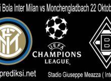 Prediksi Bola Inter Milan vs Monchengladbach 22 Oktober 2020