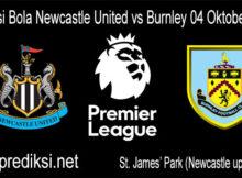 Prediksi Bola Newcastle United vs Burnley 04 Oktober 2020