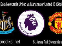 Prediksi Bola Newcastle United vs Manchester United 18 Oktober 2020