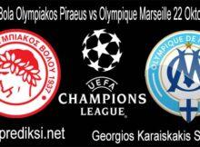 Prediksi Bola Olympiakos Piraeus vs Olympique Marseille 22 Oktober 2020
