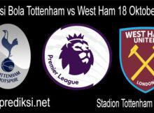 Prediksi Bola Tottenham vs West Ham 18 Oktober 2020