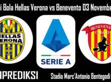 Prediksi Bola Hellas Verona vs Benevento 03 November 2020