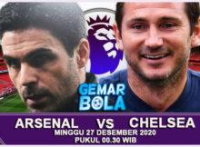 Main Prediksi Arsenal vs Chelsea 27 Desember 2020