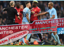 MAIN PREDIKSI MANCHESTER UNITED VS MANCHESTER CITY 7 JANUARI 2021