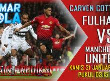 Main prediksi Fulham vs Manchester United dan susunan Pemain
