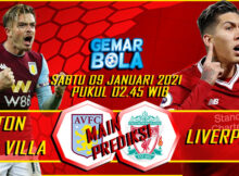 Main Prediksi Aston Villa vs Liverpool 9 Januari 2021