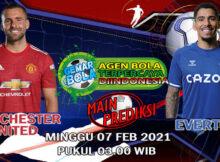 Main prediksi Manchester United vs Everton Minggu 7 Februari 2021